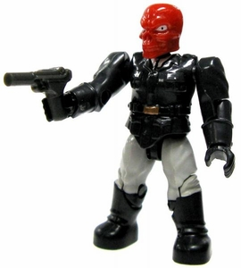 Marvel Mega Bloks LOOSE Series 2 Mini Figure Common Red Skull