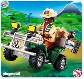 Playmobil Adventure Set #4176 Explorer Quad