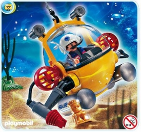 Playmobil Adventure Set #4478 Deep Sea Diving Bell