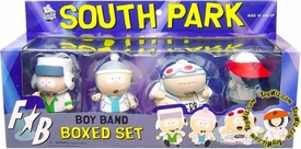 Mezco Toyz South Park Action Figure 4-Pack Boxed Set Boy Band Fingerbang BLOWOUT SALE!