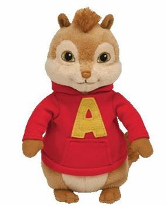 Ty Alvin & The Chipmunks Beanie Baby Alvin