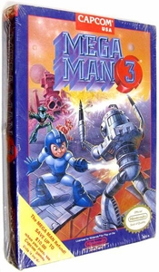 Nintendo Entertainment System NES Factory Sealed Cartridge Game Mega Man 3