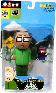 Mirage South Park Action Figure Series 3 Mr. Garrison BLOWOUT SALE!