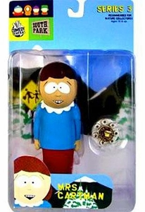 Mirage South Park Action Figure Series 3 Mrs. Cartman BLOWOUT SALE!