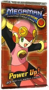 Mega Man NT Warrior Trading Card Game Power Up! Booster Pack BLOWOUT SALE!