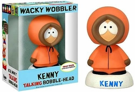 Funko South Park Wacky Wobbler Bobble Head Talking Kenny