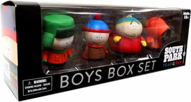 Mezco Toyz South Park Year of the Fan 4 Inch Deluxe South Park Boys Box Set
