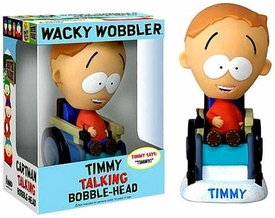 Funko South Park Wacky Wobbler Bobble Head Talking Timmy