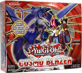 YuGiOh Cosmo Blazer Booster Box [24 Packs]