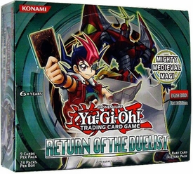 YuGiOh Return of the Duelist Booster BOX [24 Packs]