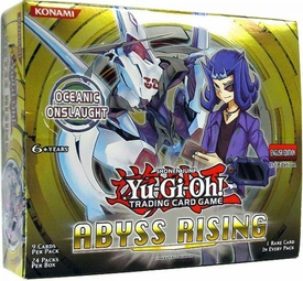 YuGiOh Abyss Rising Booster Box [24 Packs]
