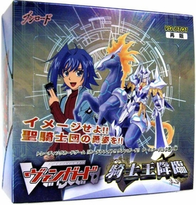 Cardfight Vanguard JAPANESE VG-BT01 Descent of the King of Knights Booster Box [30 Packs]