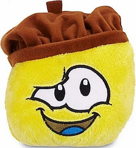 Disney Club Penguin 4 Inch Series 13 Plush Puffle Yellow with Artist Hat [Includes Coin with Code!]