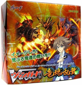 Cardfight Vanguard JAPANESE VG-BT02 Wild Dragon Soul Dance Booster BOX [30 Packs]