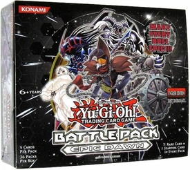 YuGiOh Epic Dawn: Battle Pack 1 Booster BOX [36 Packs]