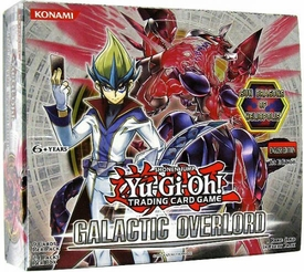 YuGiOh Galactic Overlord Booster BOX [24 Packs]