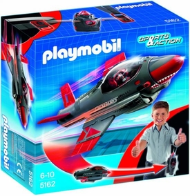 Playmobil Take Along Set #5162 Click & Go Shark Jet