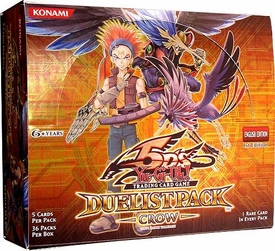 YuGiOh 5D's Crow Duelist Booster BOX [36 Packs]