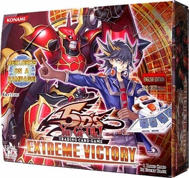 YuGiOh 5D's Extreme Victory Booster BOX [24 Packs]
