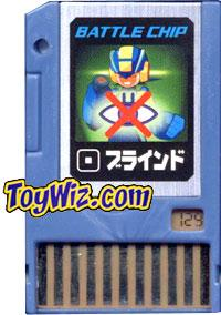 Mega Man Japanese Battle Chip #129  Works with American PET!