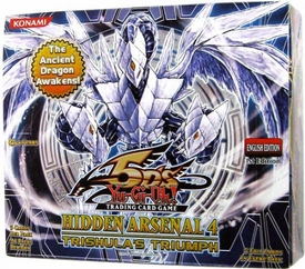 YuGiOh 5D's Hidden Arsenal 4: Trishula's Triumph Booster Box [24 Packs]