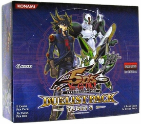 YuGiOh 5D's Yusei 3 Duelist Booster Box [36 Packs]