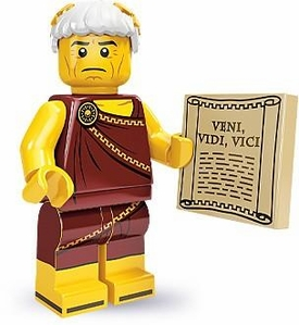 LEGO Minifigure Collection Series 9 LOOSE Mini Figure Roman Emperor