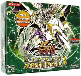 YuGiOh 5D's Hidden Arsenal 3 Booster BOX [24 Packs]