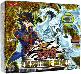 YuGiOh 5D's Starstrike Blast Booster BOX [24 Packs]