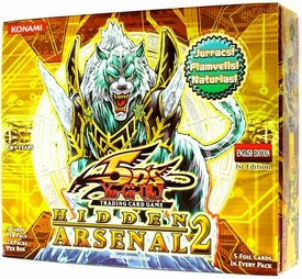 YuGiOh 5D's Hidden Arsenal 2 Booster BOX [24 Packs]