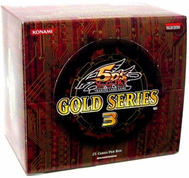 YuGiOh Gold Series 3 2010 Exclusive Limited Edition Booster Box [5 Packs]