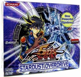 YuGiOh 5D's Stardust Overdrive Booster Box [24 Packs]