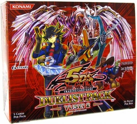YuGiOh 5D's Yusei 2 Duelist Booster BOX [36 Packs]