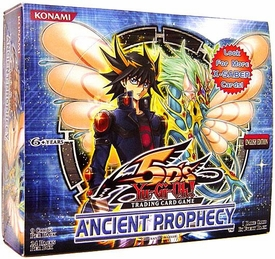 YuGiOh 5D's Ancient Prophecy Booster BOX [24 Packs]
