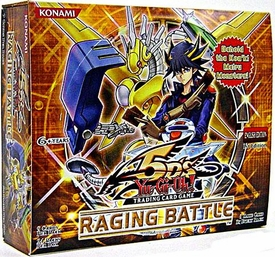 YuGiOh 5D's Raging Battle Booster BOX [24 Packs]