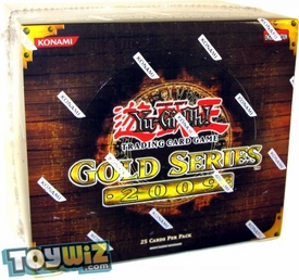 YuGiOh Gold Series 2 2009 Exclusive Limited Edition Booster BOX [5 Packs]
