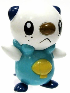 Pokemon TOMY LOOSE 2 Inch Basic Figure Oshawott [Includes Pokedex ID Tag!]