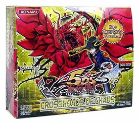 YuGiOh 5D's Crossroads of Chaos Booster BOX [24 Packs]