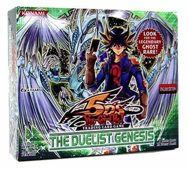 YuGiOh 5D's The Duelist Genesis Booster BOX [24 Packs]