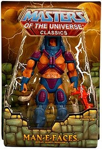 He-Man Masters of the Universe Classics Exclusive Action Figure Man-E-Faces [First Printing]
