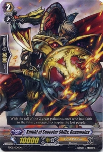 Cardfight Vanguard ENGLISH Slash of the Silver Wolf Single Card Fixed TD05-004EN Knight of Superior Skills, Beaumains