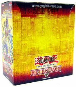 YuGiOh Retro Pack Booster Box [24 Packs & 8 Secret Rare Cards]