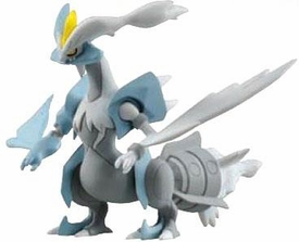 Pokemon TOMY LOOSE 4 Inch Basic Figure White Kyurem [Includes Pokedex ID Tag!]