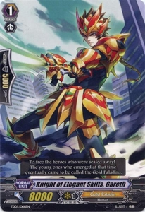 Cardfight Vanguard ENGLISH Slash of the Silver Wolf Single Card Fixed TD05-008EN Knight of Elegant Skills, Gareth