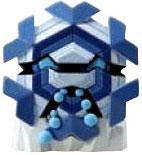 Pokemon TOMY LOOSE 2 Inch Basic Figure Cryogonal [Includes Pokedex ID Tag!]