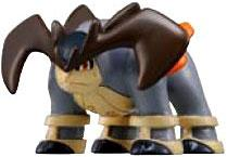Pokemon TOMY LOOSE 2 Inch Basic Figure Terrakion [Includes Pokedex ID Tag!]