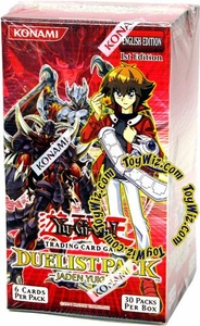 YuGiOh GX Jaden Yuki 3 Duelist Booster Box [30 Packs]
