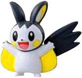 Pokemon TOMY LOOSE 2 Inch Basic Figure Emolga [Includes Pokedex ID Tag!]