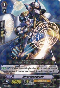 Cardfight Vanguard ENGLISH Slash of the Silver Wolf Single Card Fixed TD05-013EN Silver Fang Witch