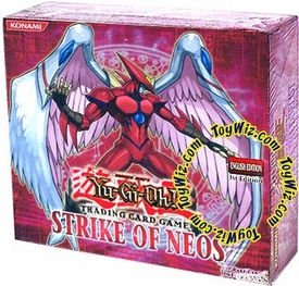 YuGiOh GX Strike of Neos 1st EDITION Booster Box [24 Packs]